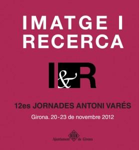 12es Jornades d'Imatge i Recerca Antoni Varés