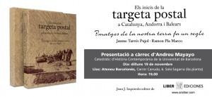 """Presentació del llibre """"Els inicis de la targeta postal a Catalunya, Andorra i Balears"""""""