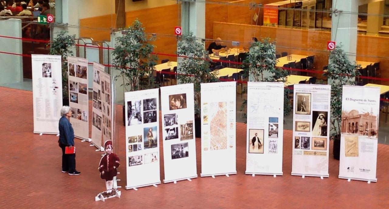 Exposició Daguerre a la Universitat Pompeu Fabra