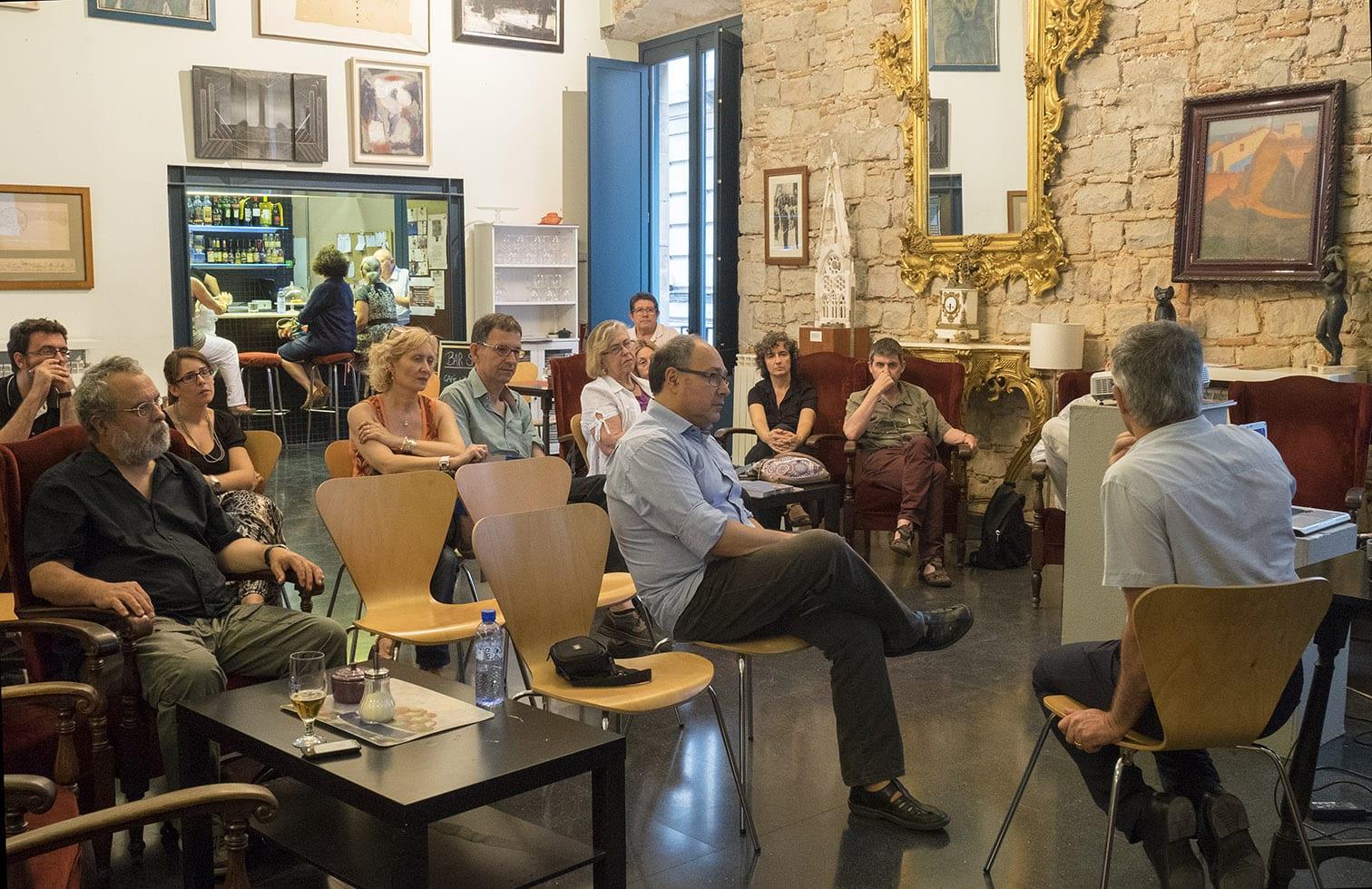 Fototertúlia 3 de juliol de 2014 al Cercle Artístic de Sant Lluc