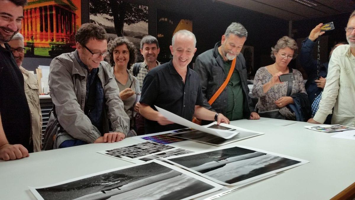 Visita professional de socis de Fotoconnexió a Copialab, 27/10/2014