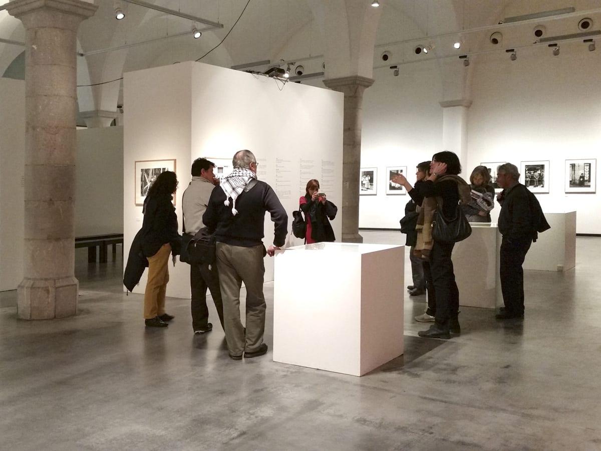 Visita guiada a l'exposició Ricard Terré (1928-2009). La meva fotografia. 21/12/2014