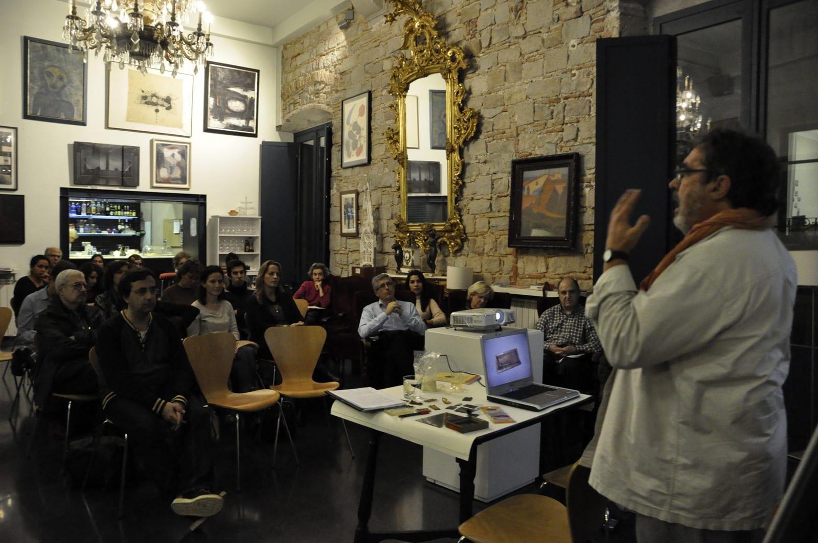 Fototertúlia El mirall de plata a càrrec de Jordi Mestre i Rita Udina 1/12/2014