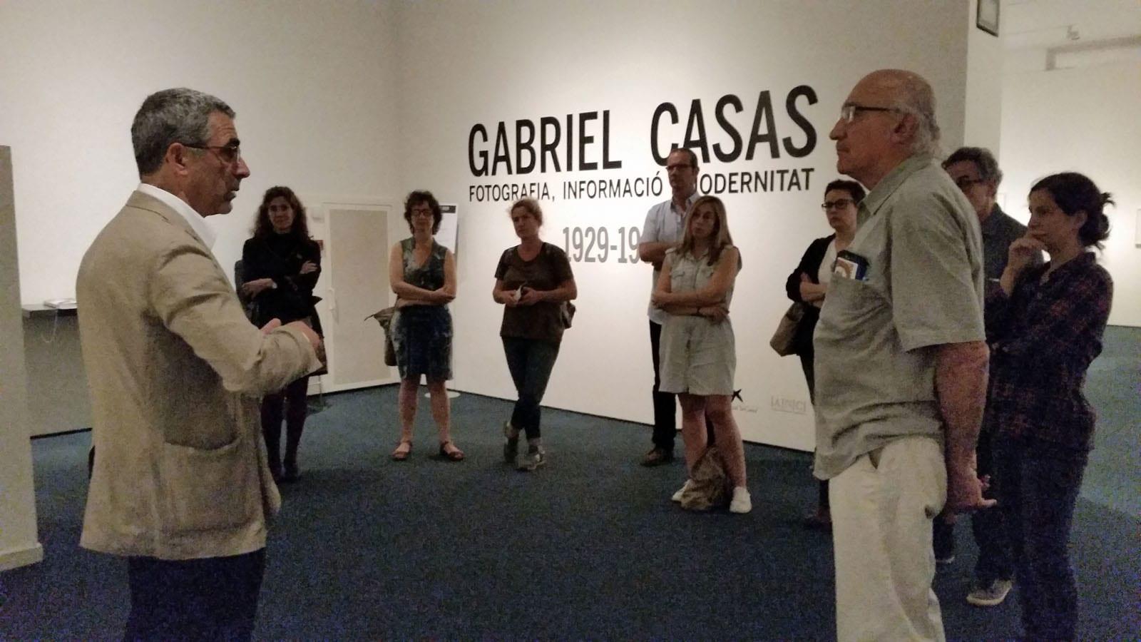 Visita guiada a l'exposició Gabriel Casas al MNAC a càrrec de Juan Naranjo. 28/05/2015