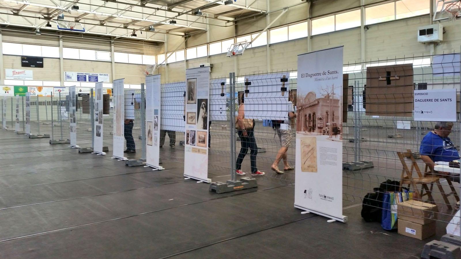 """L'exposició """"El Daguerre de Sants. Memòria d'un barri"""" al festival Fotographic Parets'15"""