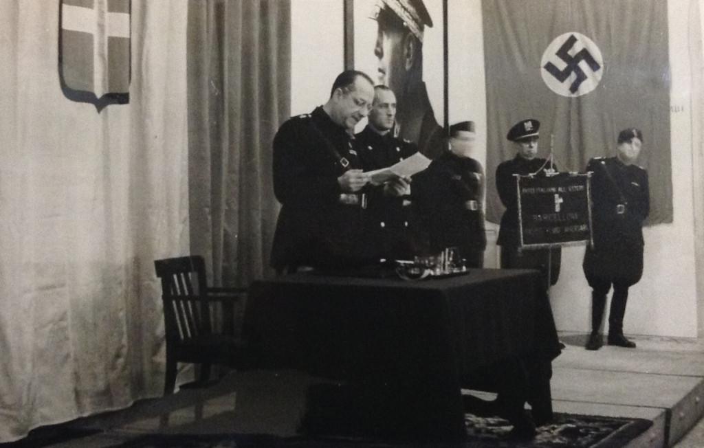 "Aniversari de la ""Marxa sobre Roma"". Octubre 1942. Pérez de Rozas / AFB"