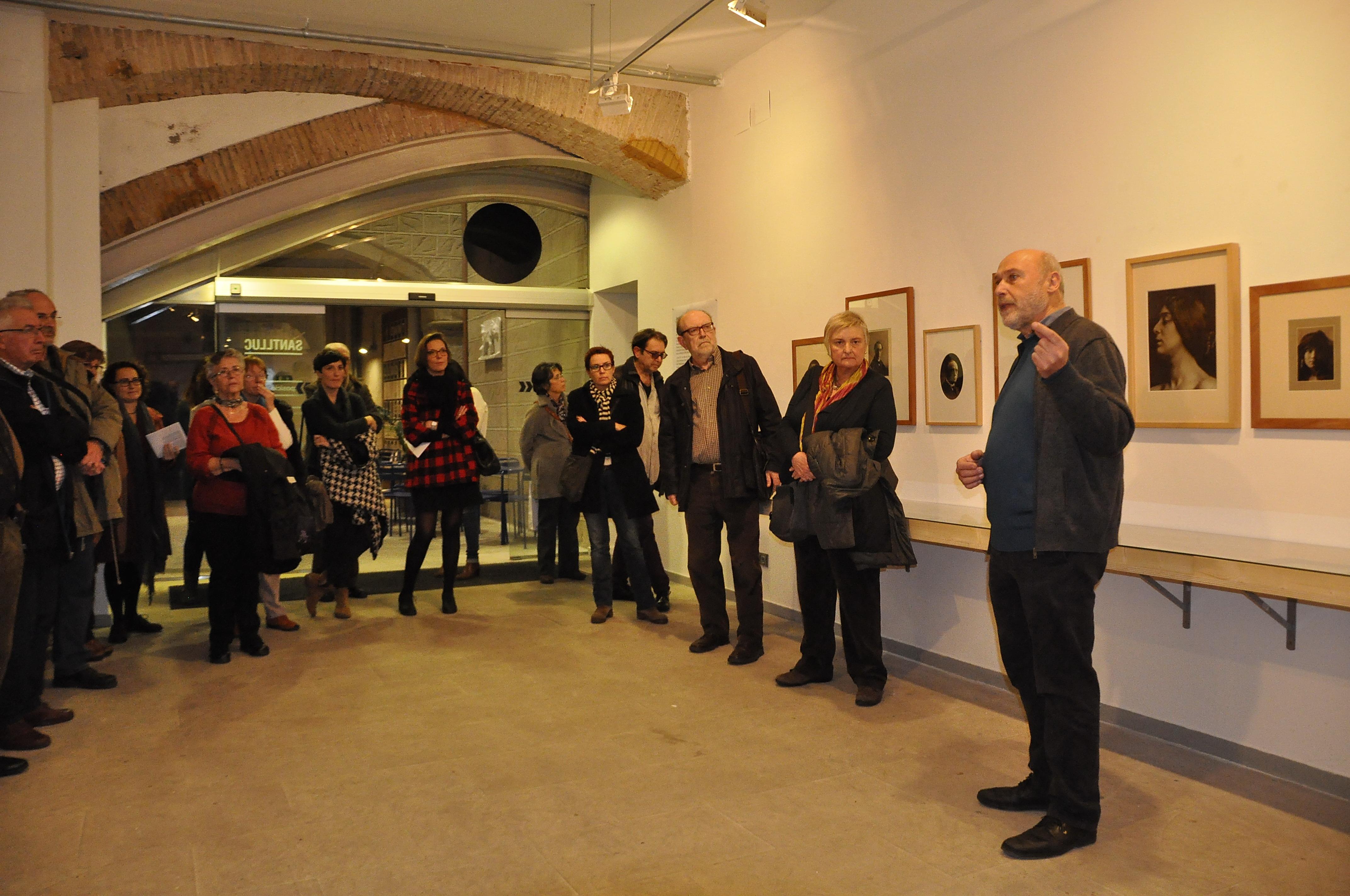 Inauguració exposició Joan Vilatobà. Fotografies. La col·lecció del Museu d'Art de Sabadell. 15/12/15