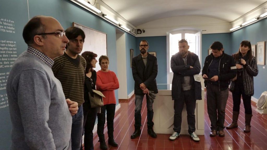 """Visita exposició """"Francesc Casañas i Riera. El retrat d'una ciutat"""". 20/02/16"""