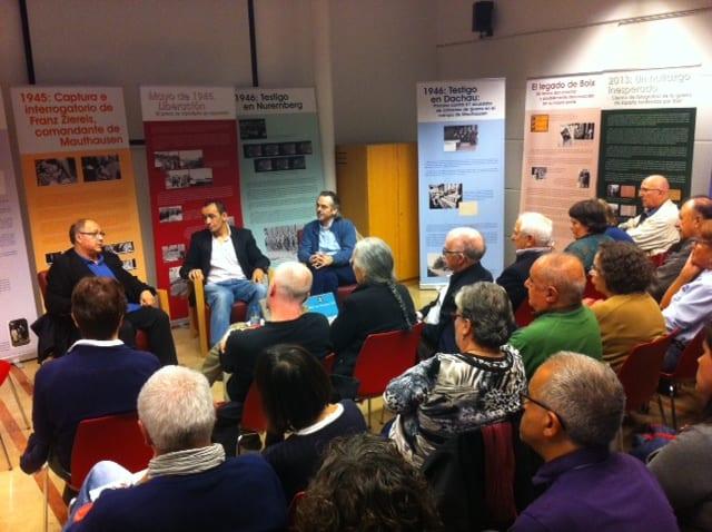 """Presentació llibre i inauguració exposició """"El fotògraf de l'horror"""". 16/11/15"""
