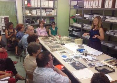 Fotos en Conserva, dia internacional dels Arxius. Arxiu de Sant Andreu, 2016