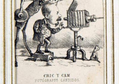 Dors targeta de visita Cric y Cam (Cap a 1880)