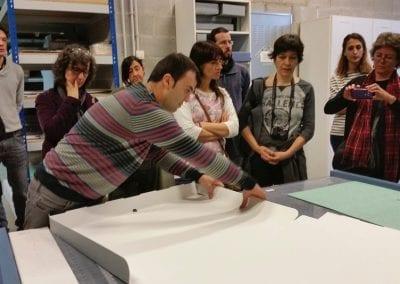 2014-11-29 Visita professional a Arte y Memoria foto R Marco