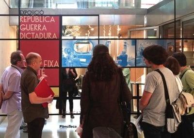 2015-06-11 expo Republica Guerra i Dictadura_foto fixa Sabaté per M A Pintanel (Filmoteca Cat) foto C Guldager