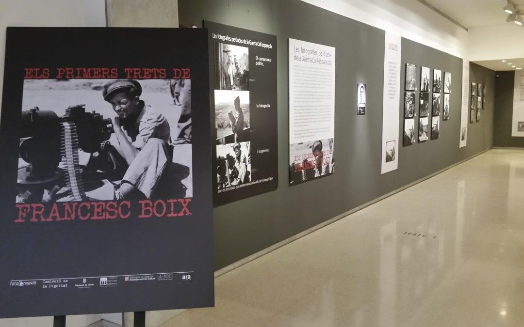 Exposició Francesc Boix al Museu la Noguera i projecció del documental Les dues guerres del fotògraf Boix. 11/10/2018