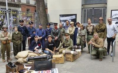 Recreació històrica: Escenaris de la Guerra Civil espanyola y ruta Obrerisme Guerra Civil. 12/05/2018