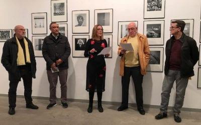 Inauguració expo Ricard Duran a Setmana de la Fotografia a Sant LLuc. 12/12/2018