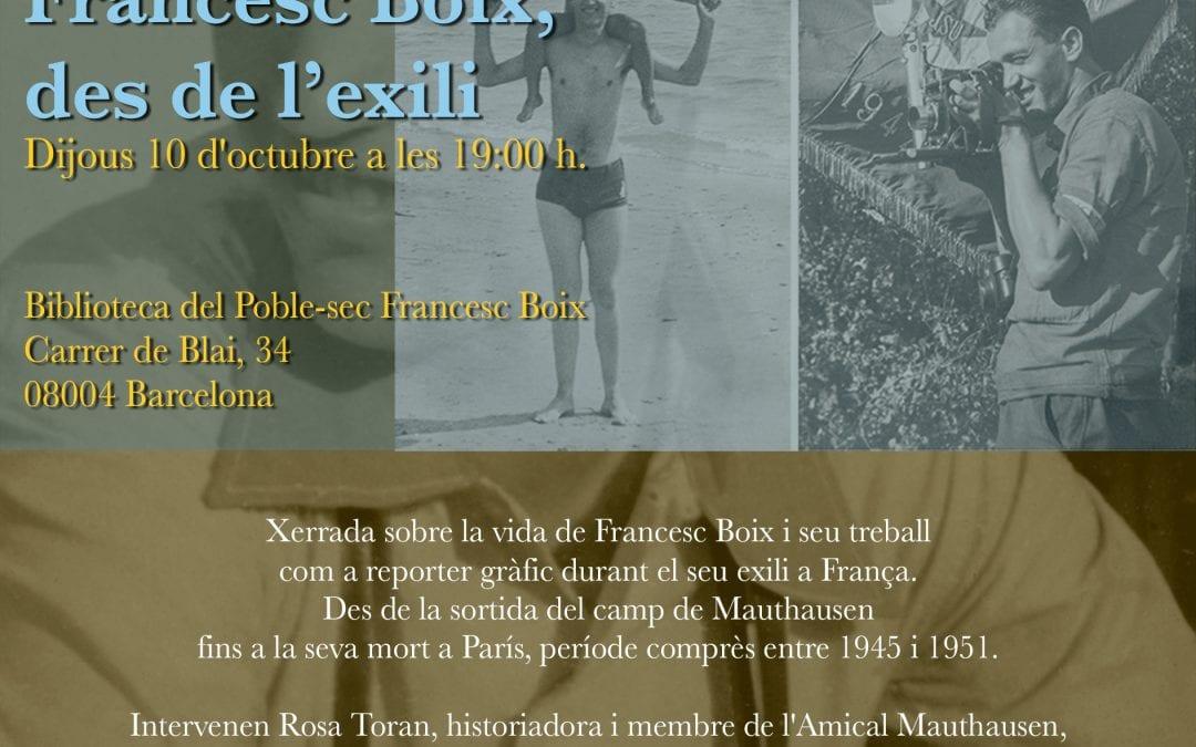 Francesc Boix des de l'exili