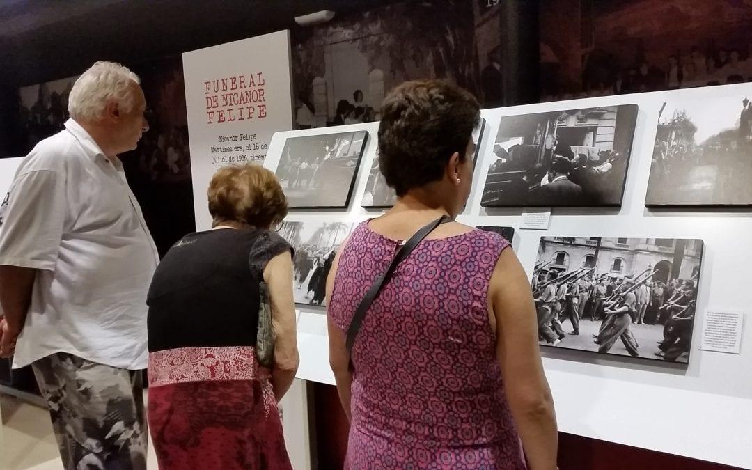 Inauguració exposició Francesc Boix a la Palma de Cervelló
