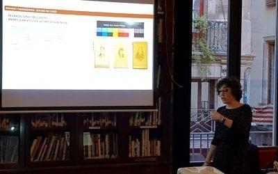 Fototertúlia: Còpies fotogràfiques a l'albúmina. Estudi de la tècnica i metodologia en la seva conservació, a càrrec de Lucía Martínez