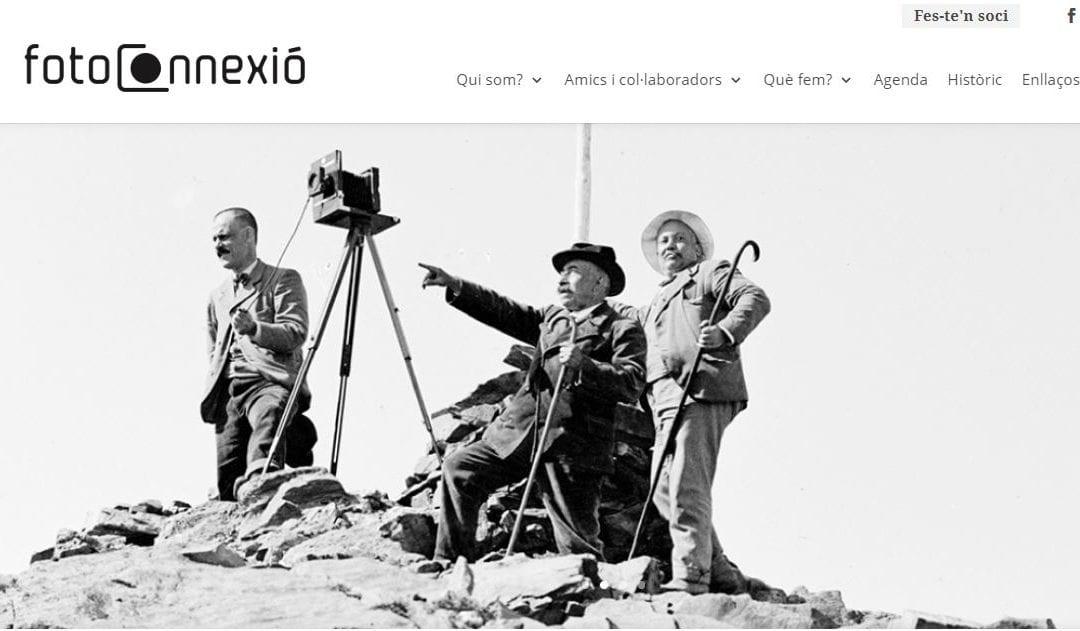 Presentació de la nova pàgina web de Fotoconnexió, a carrec de Mayte Lingg
