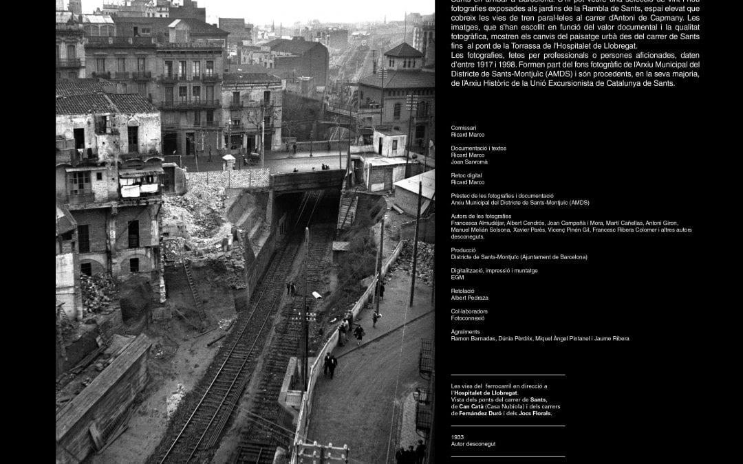 """Inauguració exposició """"Sants, rails i vies"""""""