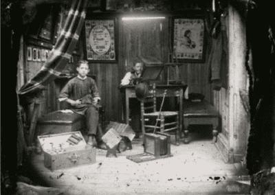 """""""El negoci del retrat fotogràfic durant el s.XIX i principis del Barcelona"""", a càrrec de Núria F. Rius"""