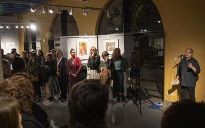 Inauguració exposició 11 fotoconnectades al Pati Llimona