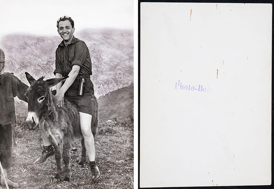 Francesc Boix - 1946 a Cabi݁lia (Argelia). August Andreu