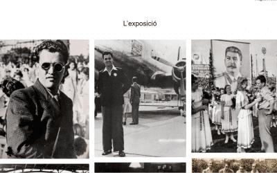 Presentació del Repositori de la web i exposició de fotos de Francesc Boix de la família Arnau, a càrrec d'August Andreu