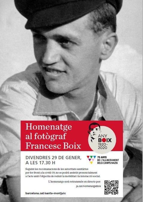Homenatge a Francesc Boix