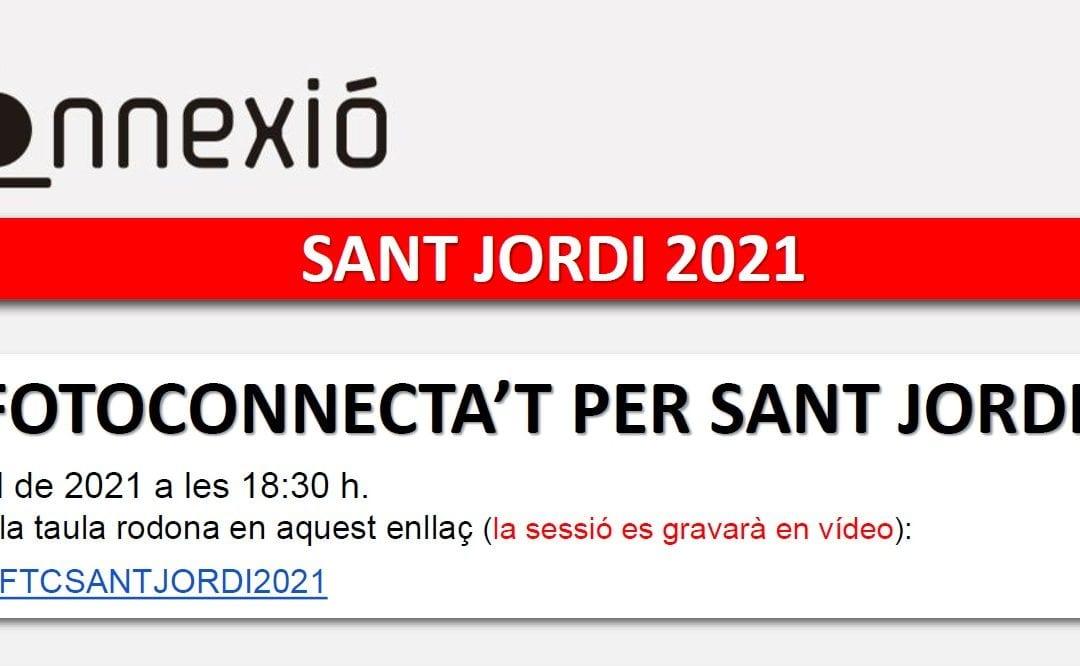 Fotoconnecta't per Sant Jordi