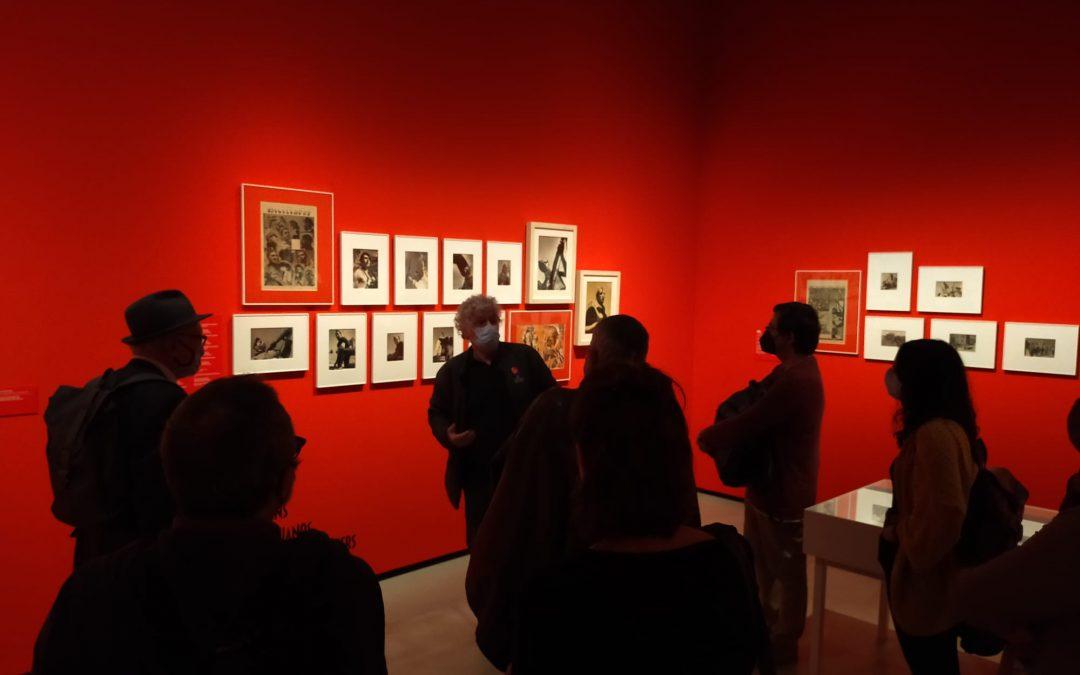 Visita guiada a l'exposició La guerra infinita. Antoni Campañà al MNAC, a càrrec de Toni Monné i Campañà