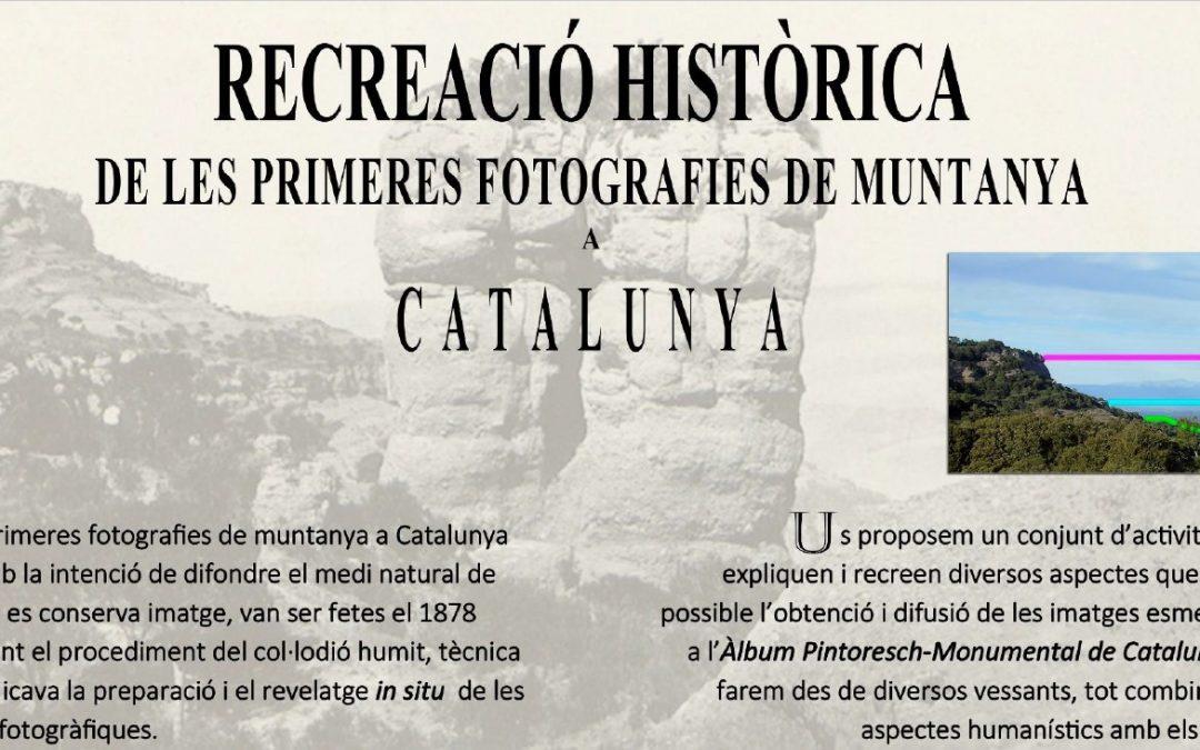 Taller Recreació històrica de les primeres fotografies de muntanya a Catalunya, a càrrec de Salvador Tió i Ramon Barnadas